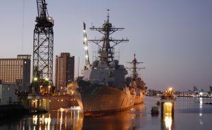 BAE Systems San Diego shipyard to tandem dry-dock two destroyers - Κεντρική Εικόνα
