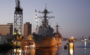 BAE Systems San Diego shipyard to tandem dry-dock two destroyers - Κεντρική Εικόνα