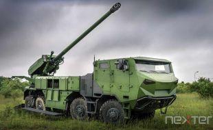 Demonstration of Strength for Nexter Artillery - Κεντρική Εικόνα