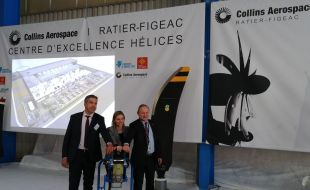 Collins Aerospace breaks ground on new Propeller Center of Excellence in Figeac, France - Κεντρική Εικόνα