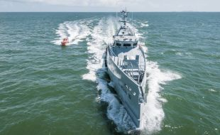 Latest Damen FCS 3307 Patrol Vessels for homeland integrated offshore services limited arrive in Nigeria - Κεντρική Εικόνα
