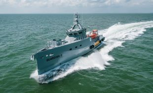 Two more Damen FCS 3307 Patrol Vessels delivered to homeland integrated offshore services limited of Nigeria - Κεντρική Εικόνα
