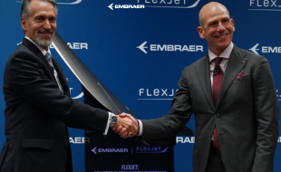 Embraer signs USD 1.4 billion business jet deal with Flexjet, which becomes the Praetor Fleet Launch Customer - Κεντρική Εικόνα