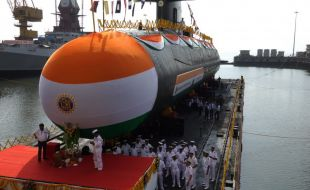 Launching of the Vela, the Fourth Indian SCORPENE®-Class Submarine Entirely Made in India - Κεντρική Εικόνα