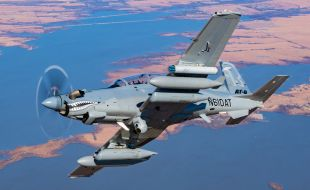 Textron Aviation Defense announces $70.2M U.S. Air Force contract award for two Beechcraft AT-6 Wolverine aircraft, training and support services - Κεντρική Εικόνα