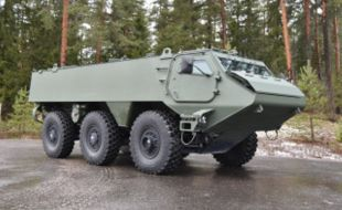 Patria's 6x6 platform chosen as part of a joint Finnish-Latvian vehicle development programme - Κεντρική Εικόνα
