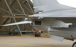New advanced pylons for US Air National Guard F-16 fighter aircraft - Κεντρική Εικόνα