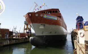 New Swedish SIGINT Ship Launched in Gdynia - Κεντρική Εικόνα
