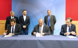 Thales Hellas and Thales Alenia Space sign MoU with Hellenic Space Agency covering future cooperation in space-based earth observation - Κεντρική Εικόνα