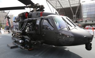 PZL Mielec Displays Single-Station Stores Pylon for Armed Black Hawk - Κεντρική Εικόνα