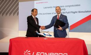 Leonardo: contract with Suzuyo for the establishment of comprehensive AW139 training capabilities in Japan - Κεντρική Εικόνα