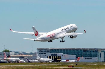 First Japan Airlines A350 XWB makes maiden flight - Κεντρική Εικόνα