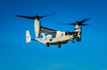 Bell Boeing CMV-22B Osprey Successfully Completes First Flight - Κεντρική Εικόνα