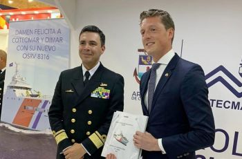 Damen signs contract with Cotecmar for DTC Hydrographic Research Vessel - Κεντρική Εικόνα