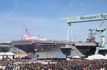 VIDEO RELEASE—Aircraft Carrier John F. Kennedy (CVN 79) Christened at Newport News Shipbuilding - Κεντρική Εικόνα