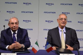 "Fincantieri and Naval Group Sign a Joint Venture Agreement the ""Poseidon"" Project Takes Shape - Κεντρική Εικόνα"