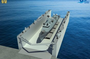 Israel MOD Orders Israel Shipyards' Floating Dock For the Israeli Navy - Κεντρική Εικόνα