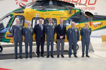 Leonardo: First AW169M delivered to Italy's Guardia di Finanza - Κεντρική Εικόνα