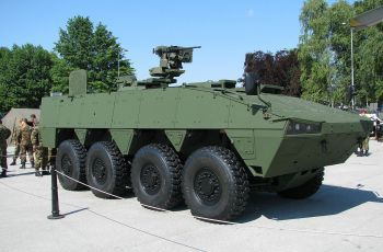 Patria AMV chosen to be tested in Japan - Κεντρική Εικόνα