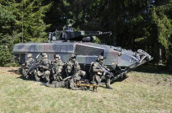 """System Panzergrenadier"": Rheinmetall modernizing Puma infantry fighting vehicle and other equipment for NATO spearhead VJTF 2023 - Κεντρική Εικόνα"