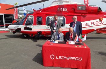 Leonardo: support and maintenance services grow stronger in Europe with SPECTO Aerospace appointed helicopter Blade Repair Centre - Κεντρική Εικόνα