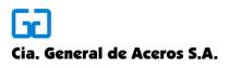 Compania General de Aceros - Logo