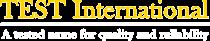TEST International - Logo