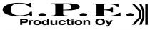 C.P.E. Production Oy - Logo