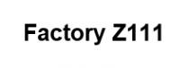Factory Z111 - Logo