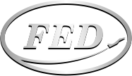 "Kharkiv Machinery Plant ""FED"" - Logo"