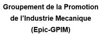 Groupement de la Promotion de l'Industrie Mecanique (Epic-GPIM) - Logo