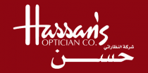 Hassan's Optical Company - شركة النظاراتي حسن - Logo