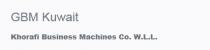 Khorafi Business Machines Co. W.L.L. - Gulf Business Machines  - Logo