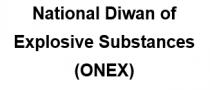 National Diwan of Explosive Substances (ONEX) - Logo
