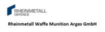 Rheinmetall Waffe Munition Arges GmbH - Logo