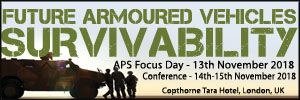 4th Future Armoured Vehicles Survivability 2018, Active Protection Systems Focus Day - 13 Nov., 14-15 November, Copthorne Tara Hotel, London, UK - Κεντρική Εικόνα
