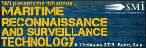 Maritime Reconnaissance & Surveillance Technology 2019, 6-7 February, Rome, Italy - Κεντρική Εικόνα