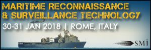 Maritime Reconnaissance and Surveillance Technology2018, 30-31 January, Crowne Plaza Rome, S. Peter's Hotel and Spa, Rome, Italy - Κεντρική Εικόνα