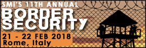 Border Security 2018, 21-22 February, Crowne Plaza Rome, St Peter's Hotel & Spa, Rome, Italy - Κεντρική Εικόνα