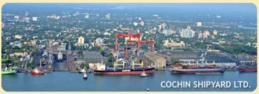 Cochin Shipyard (CSL) Ltd. - Pictures