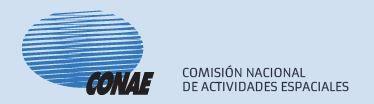 Comision Nacional de Actividades Espaciales (CONAE)  - Logo