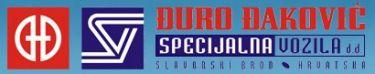 DURO DAKOVIC SPECIJALNA VOZILA - Logo