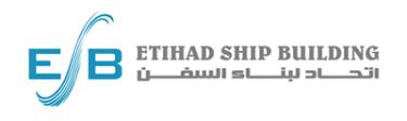 Etihad Ship Building (ESB) - Logo