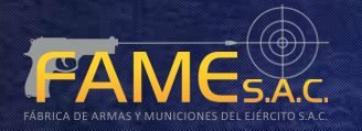 Fabrica de Armas y Municiones del Ejercito (FAME) S.A.C.  - Logo