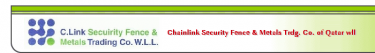 Chainlink Security Fence & Metals Trdg. Co. of Qatar W.L.L. - Logo