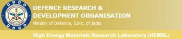 High Energy Materials Research Laboratory (HEMRL) - Logo