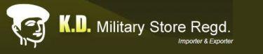 K. D. Military Store - Logo