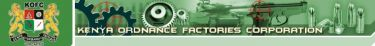 Kenya Ordnance Factories Corporation (KOFC) - Logo