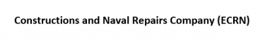 Constructions and Naval Repairs Company (ECRN) - Logo