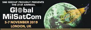 21st Annual Global MilSatCom 2019, 5-7 November, London, UK - Κεντρική Εικόνα